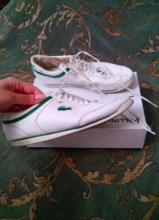 Оригинал. брендовые кроссовки lacoste, размер 41