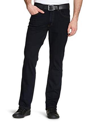 Джинсы lee brooklyn straight jeans clean black, w32/l31