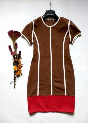 Красивейшее платье плотный трикотаж m-l