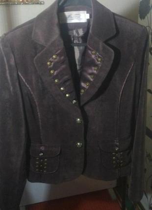 Вельветовый костюм из 4-единиц