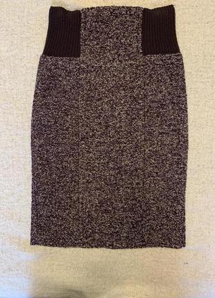 Твидовая юбка фирмы ming, размер 36
