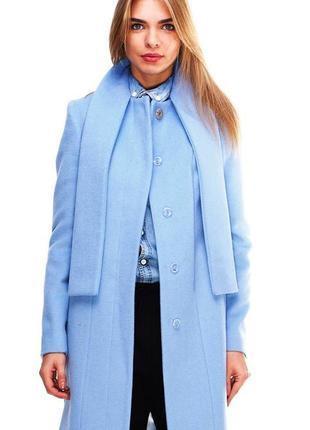 """Пальто для женщин """"родари"""", голубое - dolcedonna"""