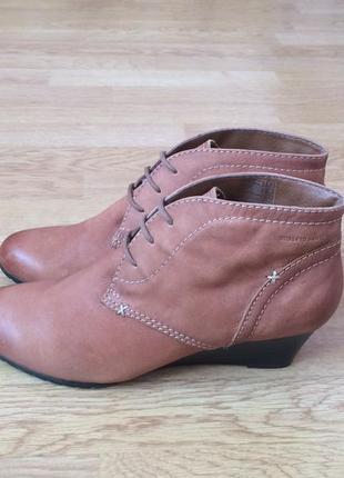 Кожаные ботинки roberto santi швейцария 39 размера