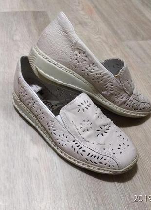 Rieker туфлі туфли мокасини балетки
