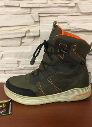 Ботинки ботиночки зимние сапожки черевики eссо gore-tex р. 34 ст. 21. 5см