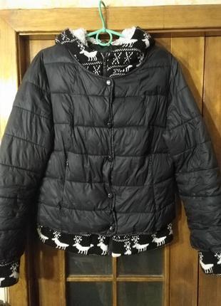 Куртка женская,бу.,р.50,отличное состояние,на синтепоне.