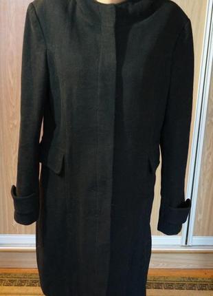 Суперское,теплое,шерстяное пальто на синтепоне