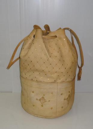 Сумочка-мешок ручной работы