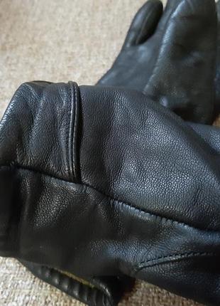 Перчатки, кожа