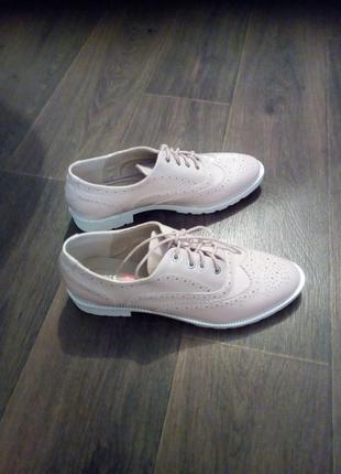 Идеальные розовые лаковые туфли-лоферы
