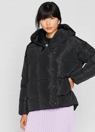 Дутая куртка одеяло stradivarius