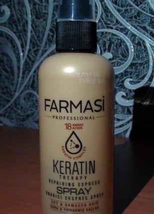 Спрей для волосся keratin therapy 115 мл