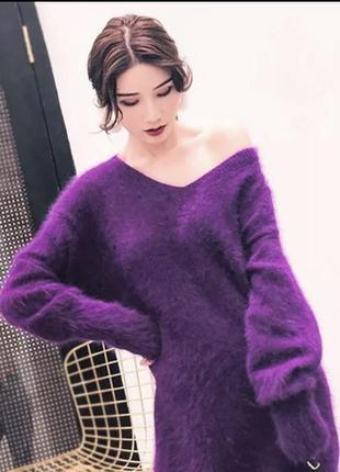 Очень классная кофта туника пуловер травка oversize