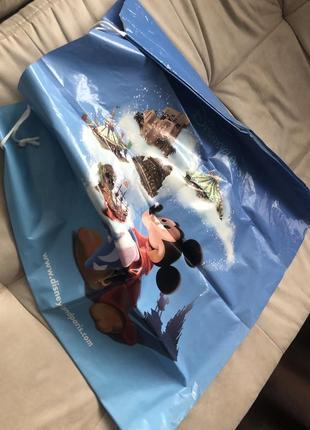 Мешок деда мороза disney сумка торба