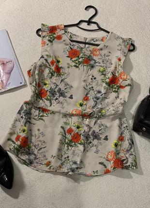 Стильная блуза, размер xl маломерит