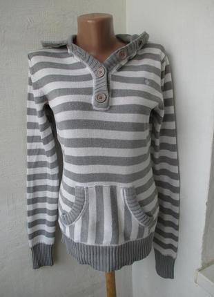 Кофта свитер кенгуру с капюшоном colours of the world . 10 - 12 р