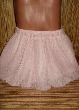Нарядная фатиновая юбка на 2 года