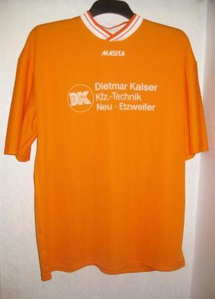 Футболка мужская оранжевая спортивная masita бельгия