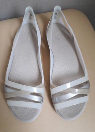 39 р. crocs стильные мягкие босоножки сандалии ультракрмфорт