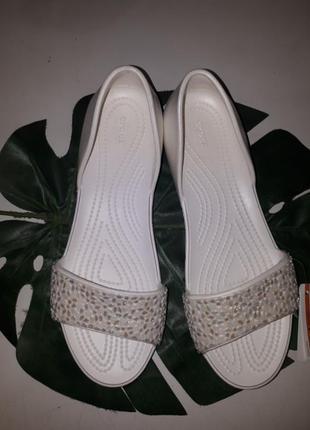 Балетки crocs w9