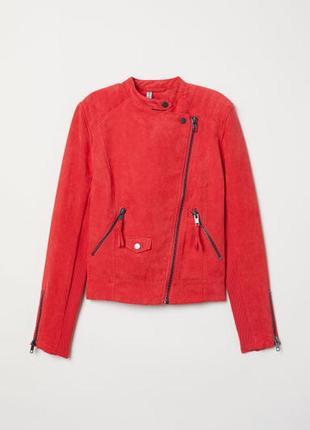 Куртка байкерка h&m 40р
