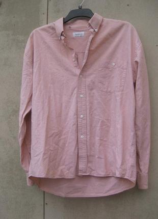 Рубашка мужская розовая pierre cessario