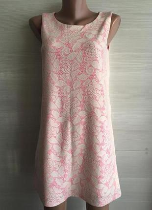 Красивое платье футляр кружево h&m