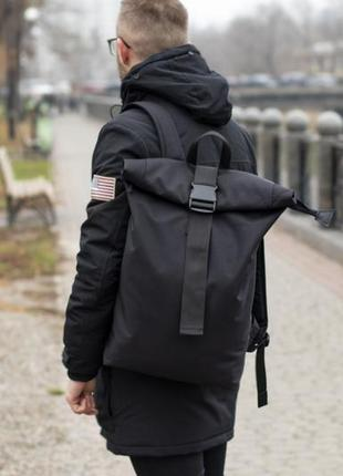 Роллтоп рюкзак мужской