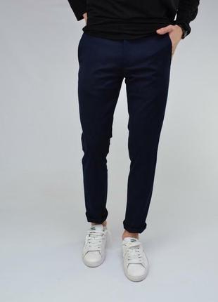 Теплые мужские брюки шерсть классика