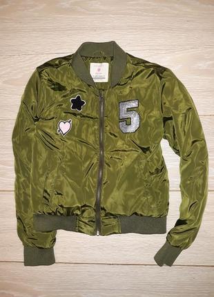 Крутая деми курточка-бомбер primark на 9-10 лет 2017г