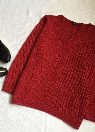 Теплый свитер bm collection xl---58-60 размер.