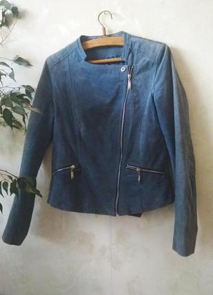 Кожаная куртка натуральная кожа косуха
