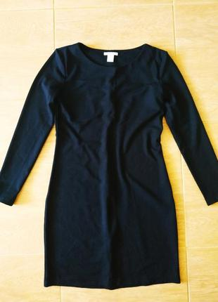 Платье базовое трикотаж h&m