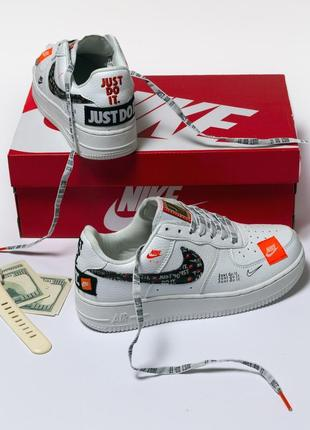 Женские кроссовки nike air force just do it
