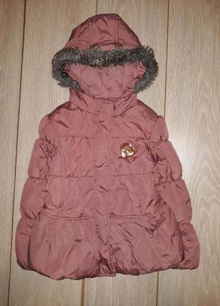 Тёпленькая деми,еврозима курточка f&f 116р