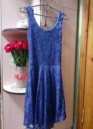 Гипюровое платье boohoo