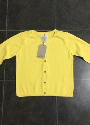 Желтый кардиган кофта zara