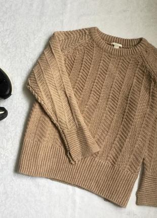 Теплый свитер h&m xl---58-60 размер.