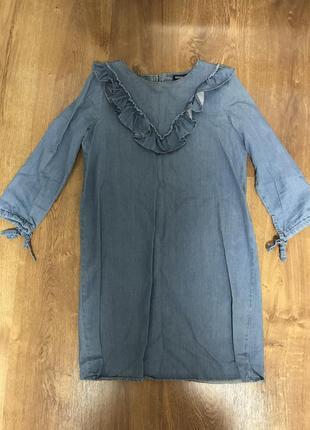 Джинсовое платье sinsay