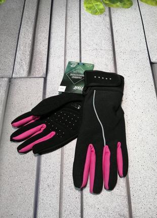 Женские спортивные перчатки crivit велоспорт
