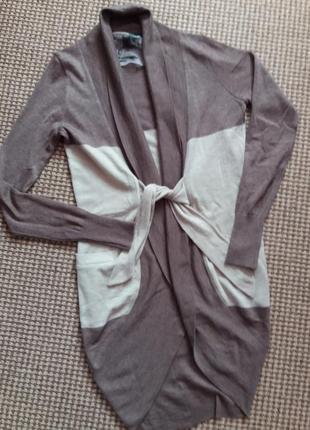Класний кардиган кофта накидка шерсть-альпака