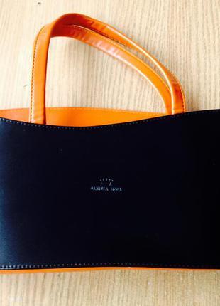 Италия , натуральная кожа сумка, daniella moda