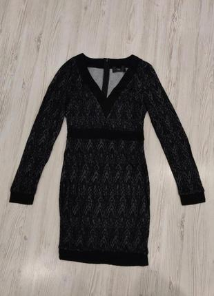 👑♥️final sale 2019 ♥️👑  стильное мини платье с рукавами и вырезом по фигуре