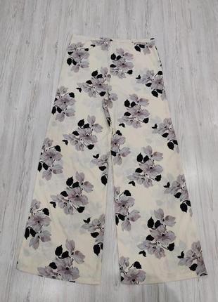 👑♥️final sale 2019 ♥️👑  роскошные женские молочные брюки в цветы