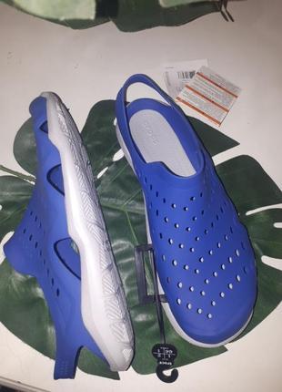 Сандали аквашузы crocs swiftwater3 фото