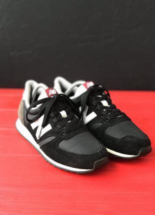 Женские кроссовки new balance 420 черные