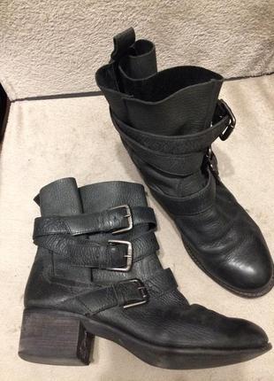 Carvela kurt geiger кожаные ботинки сапоги ботильоны