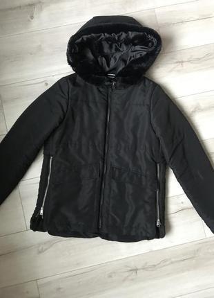 Деми курточка прямого кроя