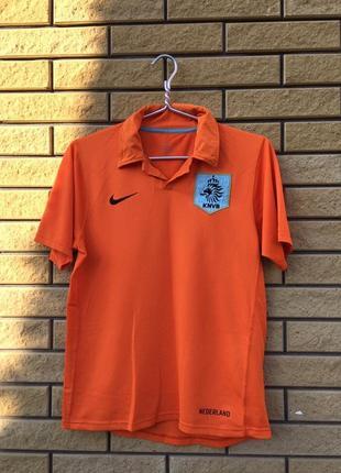 Тренировочная футболка nike sphere dry / nederland / original