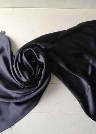Pierre cardin шёлковый шарф, палантин